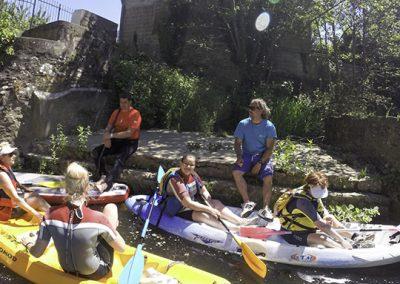 Paddle et kayak sur le Wimereux