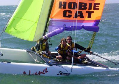 Catamaran hobbie 16