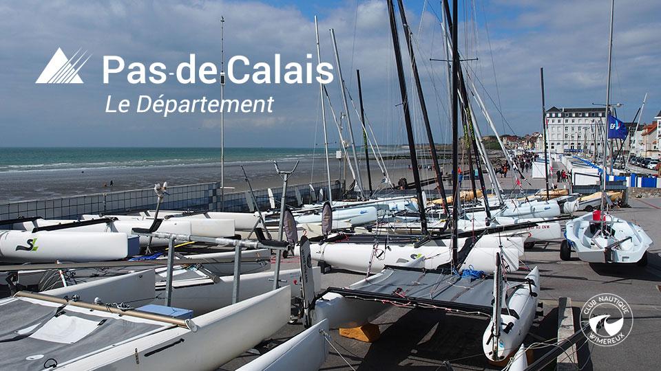 Le département du Pas de Calais soutien la voile !