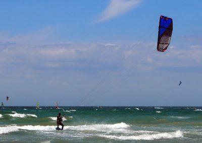 actvité kite surf